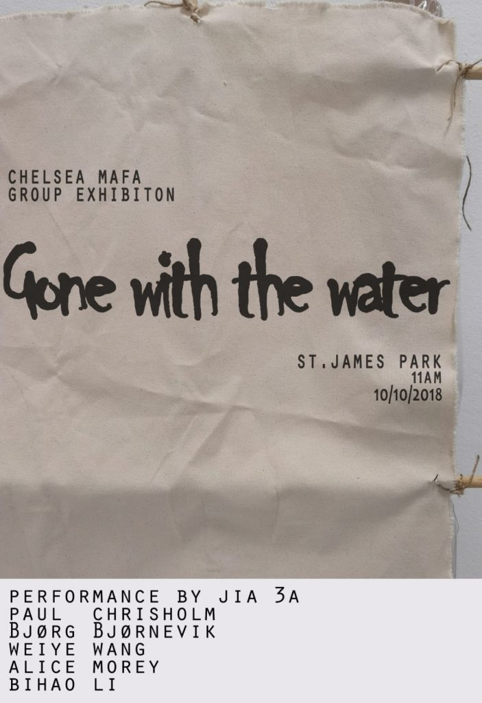 Gone with the water